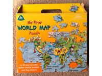 My First =World Map Puzzles 80 Pieces