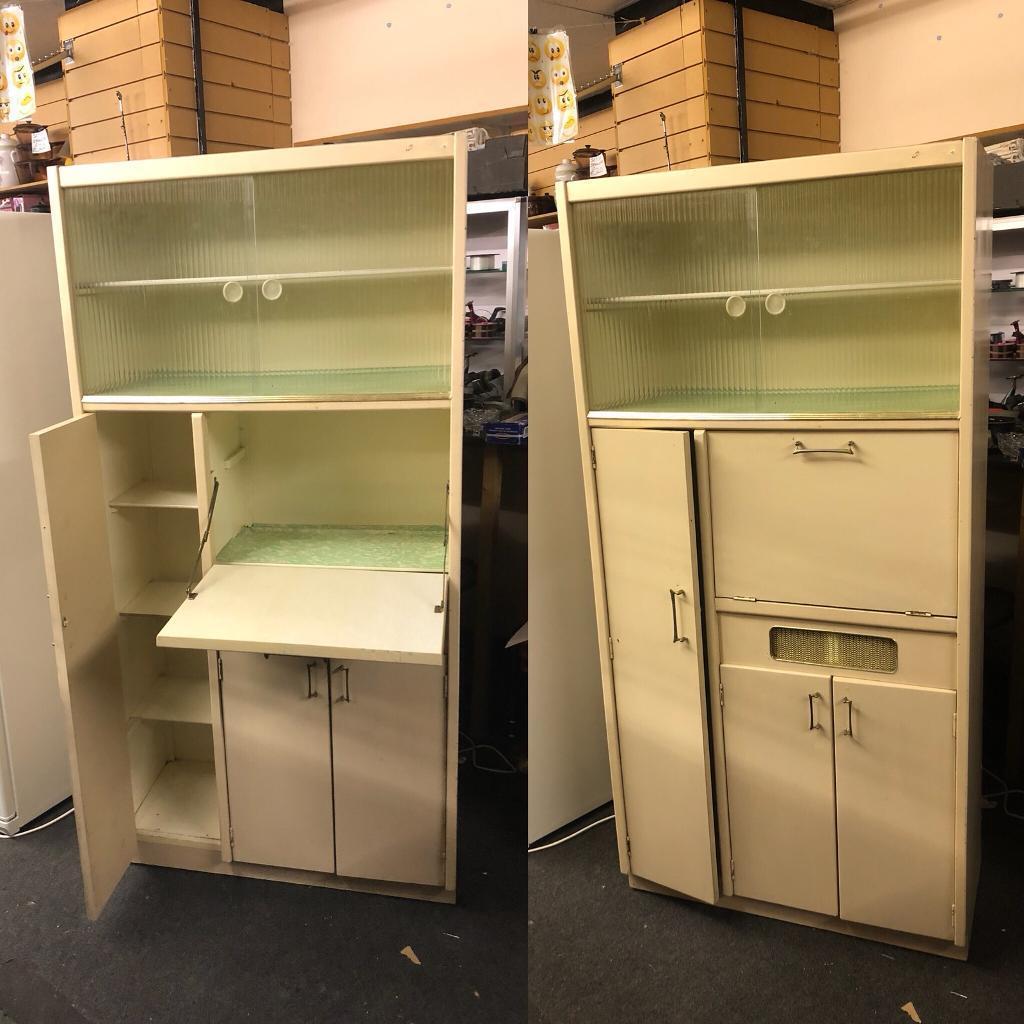 1950's Vintage Kitchen Larder cabinet