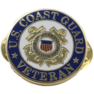 US Coast Guard Veteran Pin