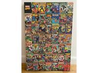 Marvel comics canvas poster