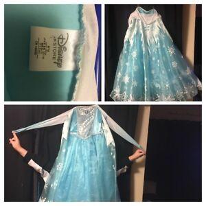 Queen Elsa gown