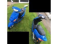 50cc scooter 80 miles baotian ,2012 ,bt50