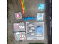 Feeder rod and reel setup