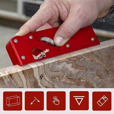 Chamfer Plane Woodworking Edge Corner Trimming Block Planer DIY Manual Wood Tool
