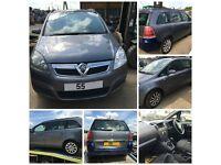 Vauxhall Zafira Diesel 1.9 CDTI 2005 Moonland Grey 155 3KU Manual all parts available