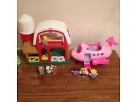 Little people toys bundle