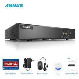 ANNKE H.264+ 16CH 1080P Lite CCTV DVR for TVI AHD Security Camera System Email