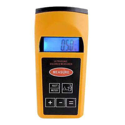 Ultrasonic Tape Measure Distance Meter Pointer Digital Tape Measure