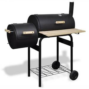 Classic Charcoal BBQ Offset Smoker(SKU41252)vidaXL Mount Kuring-gai Hornsby Area Preview