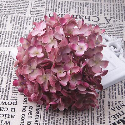 künstliche Hortensie Seidenblume Blumenarrangements dunkelrosa