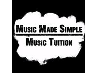 Drum Tuition - Piano Tuition - Music Theory Tuition MADE SIMPLE!