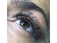EYELASH EXTENSIONS! Offer £35.00 Full Set / Infill £25.00 VERY FLEXIBLE!
