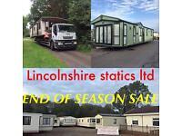 Static caravans for sale ~~ free u.k delivery ~~ Lincolnshire statics ltd