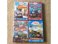 Thomas and Friends DVDs x4