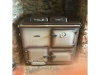 Rayburn cooker - gas fired - serviced