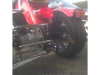 Harley 883 sports trike