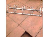 Used mottez 5 bike rack B131V, floor or wall mountable