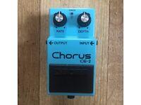 Vintage BOSS CE2 Chorus pedal