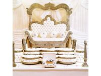 Wedding stage throne chair (£299) and doli hire in London and surrounding