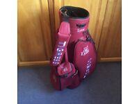 Ladies Lynx Cart Golf Bag , NEW