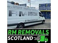 Rm Removals Scotland ,low cost -professional ⭐️ ⭐️⭐️⭐️⭐️ man and van