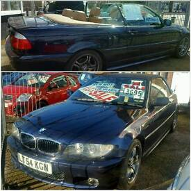 LOW MILEAGE 2004 (54 Plate) BMW 318i Sport Convertible Auto 2.0 Petrol FULL Service History