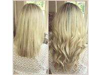 European Weave Hair Extensions / Micro Ring Weave / Hair Extension Training