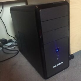 Gaming PC, 3.6Ghz CPU, GT 610 , Spares & Repairs (See Desc)