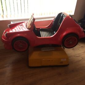 RG MITCHELLS COIN OPERATED CHILDRENS RIDE ON