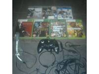 Ps3 Xbox 360 games controller headset gta