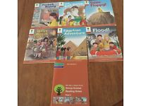Oxford Reading Tree Stage 8 Book Band 7 Turquoise and Book Band 8 Purple