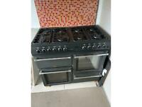 Belling Countrychef Duel Fuel range Cooker and Hood