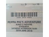 Peppa pig adventures live