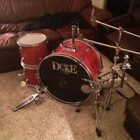 Dixon bass drum toms and hardware