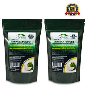 Graviola Leaf Powder 1 lb (Soursop) Annona muricata - Premium Quality 100% Pure