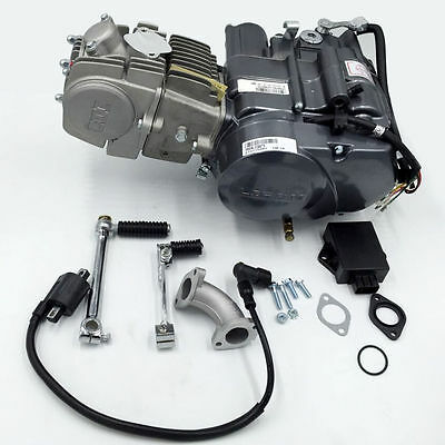 LIFAN 150CC OIL COOLED ENGINE MOTOR SDG SSR 107 110 125 PIT BIKE Manual Clutch