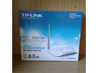 TP-Link 150Mbps Wireless N ADSL2+ Modem Router