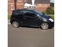**CITREON C2 VTR SPORT** 8 Months MOT 1.6 Engine, Semi Automatic Cheap run around, no problems.