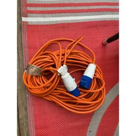 22 metre power cable