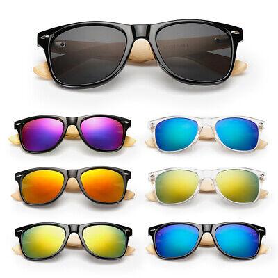 Retro Vogue Sunglasses Bamboo Wood Wooden Mens Womens Summer Glasses (Vogue Sunglasses Men)