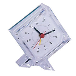 Mini Travel Alarm Clock Portable Table Desk Snooze Clock with Night Light 05