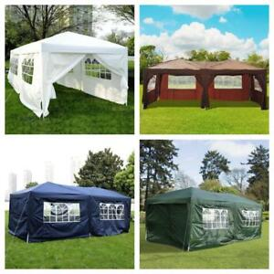 "FREE DELIVERY @ WWW.BETEL.CA || 10'x20' ""Easy-Pop-Up"" Wedding, Party PAVILION Tents with Sides 