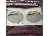 Sat navigation disk