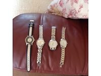 Lovely ladies chunky watches. Perfect as hardly worn. Each cost £45 sell for £10 each