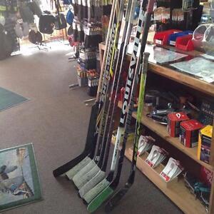 Assorted Composite Hockey Sticks
