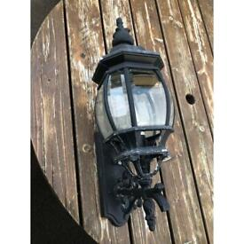 Traditional Outdoor Garden Wall Light Lantern Coach Lighting Vintage