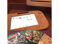 Wii U boxed *vgc* with games