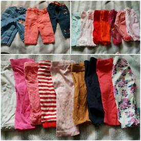 Girls 3-6 months clothes over 70 items