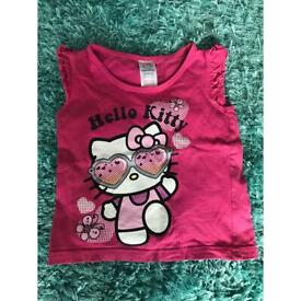 Hello kitty t-shirt 18-24 months