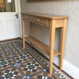 Wooden Console Table (130w x 90h x 30d)